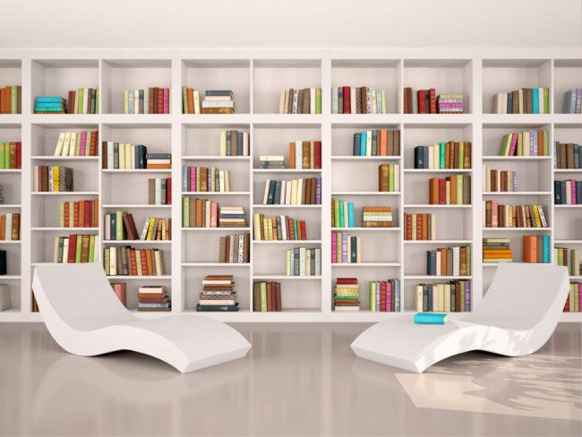 librerie a parete online