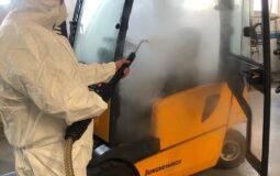 disinfezione a vapore